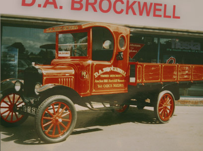 DA Brockwell Delivery truck
